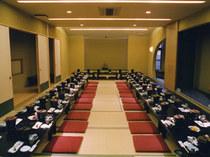 宴会場は最大65名のご宴会を承ります。