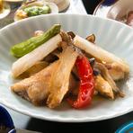 焼き魚だけじゃない! 旬の秋刀魚とキノコの吹寄せ揚げ!