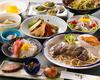 豪華な料理に3時間飲み放題付きで7350円(税込み)