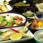 初夏の新懐石料理 10品 5250円