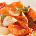 細切り牛肉とピーマンの炒め(小盆)
