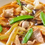 豆腐と豚挽肉の辛子ソース煮(小盆)