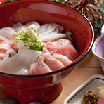 海鮮丼 1800円