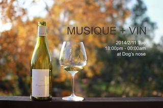 MUSIQUE + VIN