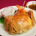 秋の味覚『上海蟹』