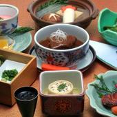 懐石料理で歓送迎会を!飲み放題の『宴会プラン』7000円より。
