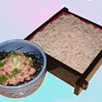 マグロたたき丼セット