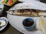 釧路のサンマです。