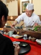 サックサク、アツアツの揚げたての天ぷらをすぐにお出しできます。