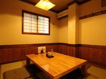 お座敷の個室席は、ちょっとした会食にお勧めです。