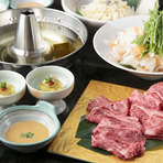 季節の味のおいしさが伝わる料理の数々『季節の本格懐石コース』
