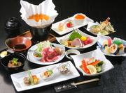 小鉢・海鮮オードブル・フライ盛合せ・自家製春巻・本日の肉料理・焼そば・寿司