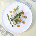 こだわりの有機野菜を使ったヘルシーフレンチで女子力アップ!