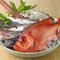 寿司ひと筋45年の大将が毎朝厳選した、旬の魚介を味わえる