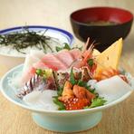 「ちらし寿司」も人気です。
