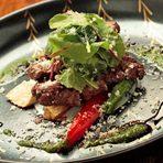 牛フィレ肉のグリエ バジルとバルサミコソース
