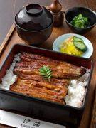 国産の活うなぎをふっくら香ばしく焼き上げました。お刺身、酢の物が一緒になった定食もございます。