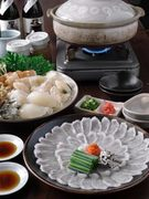 【10~3月限定】 新鮮なとらふぐを用いた料理をご堪能ください