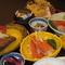 新鮮かつ旬の魚介類を使ったお料理の数々