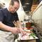 料理人歴53年。ベテランの目が見極めた厳選食材を提供しています