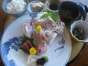 とにかく刺身が好き!という方におすすめ! 鯛のおかしらがつく場合もあったり。お楽しみに