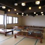 二階には宴会にも使える座敷があります