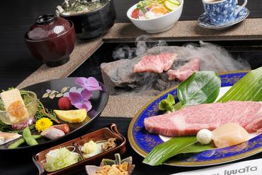 石焼ステーキ定食 [A]