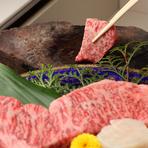 上質なお肉をじっくりと味わう、美味しい時間を演出