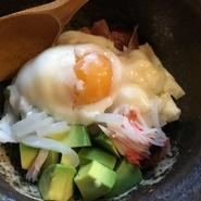 アボカド海鮮小鉢