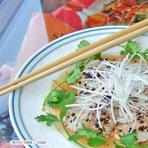太刀魚と揚げビーフンの春野菜あえ(こちらの商品の販売は終了致しました)