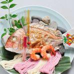 お祝い 焼き鯛