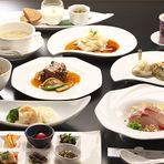 好の季節コース +1,290円で北京ダック(1皿3枚)追加できます。