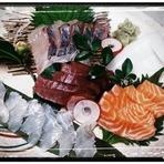 神戸の明石海峡にもまれた鮮魚を厳選した五種盛り!!