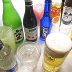 地酒や女性にも好評のカクテルまで、ドリンクも豊富にご用意