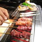 <炉端焼き> 定番お値打ち!! 季節食材の炉端焼き