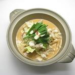 絶品スープ!!ミルク仕立ての『和牛もつ鍋』が人気商品