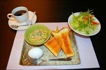 モーニングは和食、洋食からお好みをお選びください