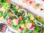 健康志向の方に! 地元の有機野菜を中心に季節を追って彩豊かにたっぷりフレッシュな野菜をご用意