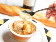 フランスの代表的なスープ。50年近くも多くの著名人をうならせて来たムッシュのご自慢。