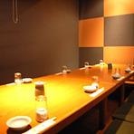 2名から120名様まで個室は大小7室、ご希望をお気軽にご相談下さい。