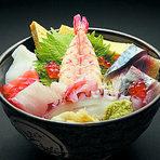 朝どれ鮮魚の海鮮丼660円