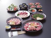 一頭買いならではの各種宴会コースは3000円より全5種類