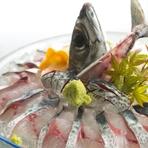 とびきり新鮮だからこそ味わえる美味『泳ぎサバ活造り』