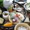 四季折々の旬の食材を盛り込んだ多彩な味わい『季節の篭盛り膳(12品)』