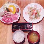 「膳スペシャル」地鶏、カルビ、海鮮焼用盛り合せ