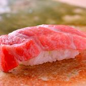 寿司屋には欠かせない『まぐろ』の握り