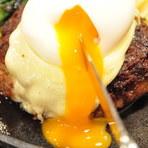 半玉チーズハンバーグ・和風ソース