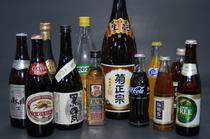 焼酎やウイスキー、生ビールなどお酒も充実です