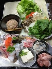 料理はおまかせ、お飲み物はお好きな物をとおっしゃるお客様にピッタリのコースです。