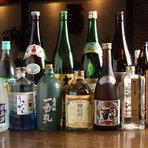 色んなお酒がたくさんあります